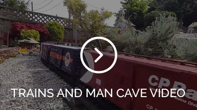 Trains and man cave