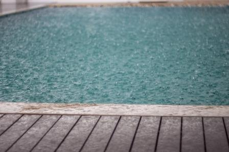 Rainy Season on the Pool