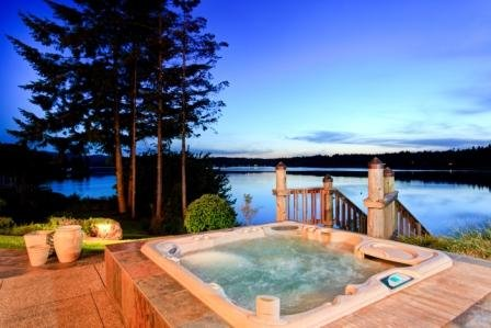 A beautiful Hot Tub