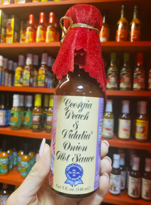 Georgia Peach & Vidalia Onion Hot Sauce