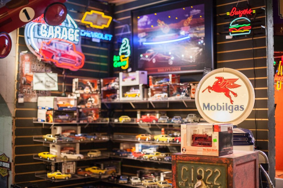 A Man Cave Store : Model trains neon beer signs man cave accessories surrey